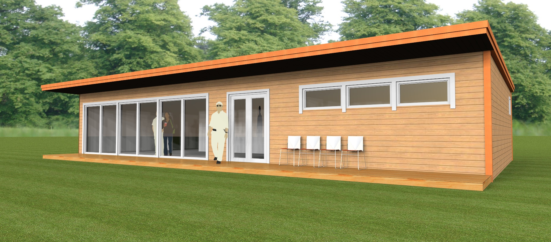 New Cricket Pavilion In London Underway Nordic Woodcouk