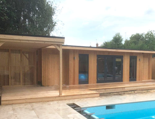 Pool house, gym and shed – all in one